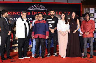 John Aham, Bhagyashree, Subhash Ghai and Amyra Dastur Attends Princess India 2016 17 015.JPG