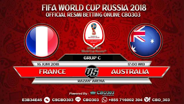 Prediksi Bola Piala Dunia 2018 France VS Australia 16 Juni 2018 Grup C
