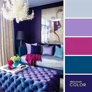 Kombinasi Warna Ungu Desainrumahid