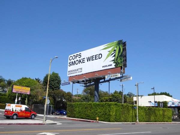 Weediquette season 2 Viceland billboard