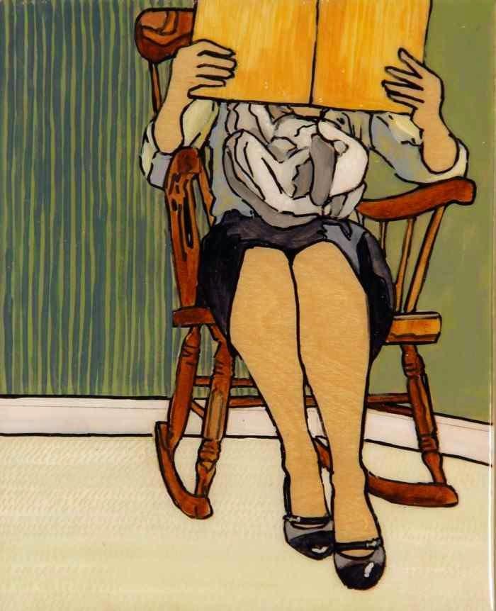 Американская художница. Leslie Graff