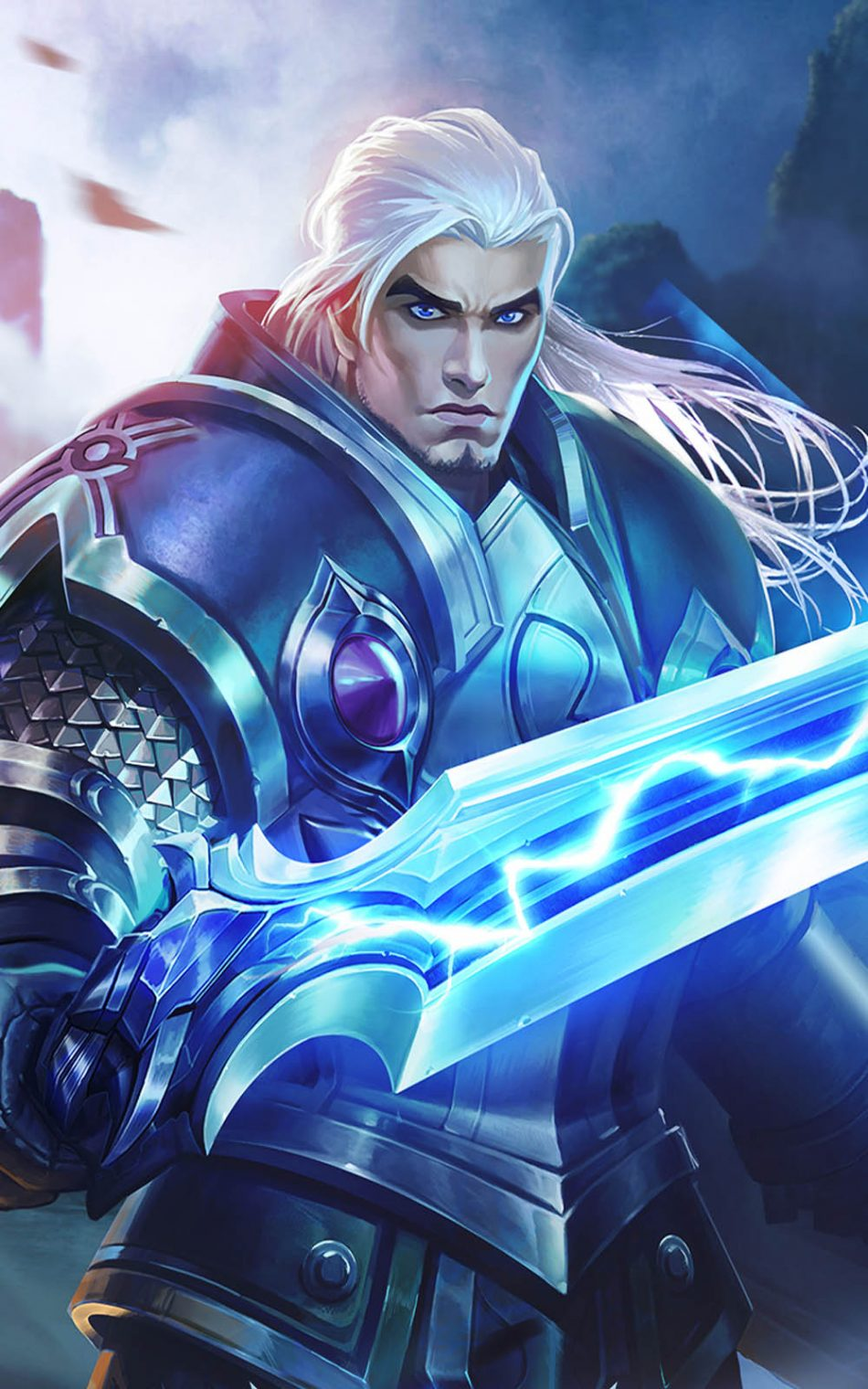 download wallpaper Tigreal mobile legends hd