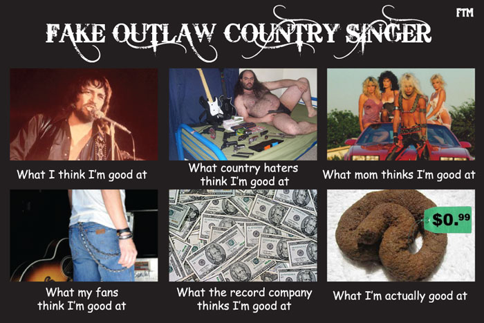 Pictures of Country Music Sucks