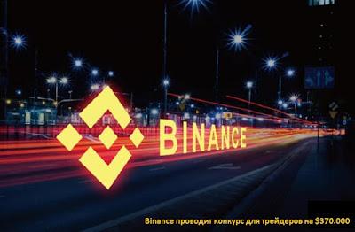 Binance проводит конкурс для трейдеров на $370.000