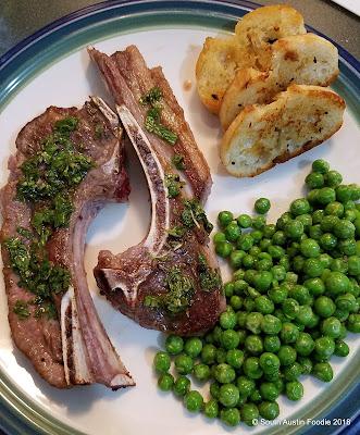 Capra lamb chops from Rosso + Flynn