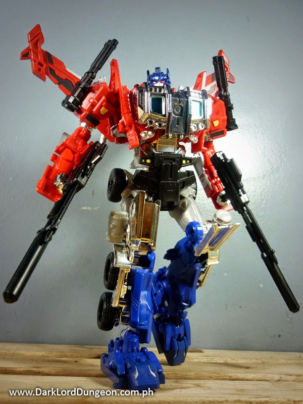 Evasion Mode Optimus Prime DX9 Armor Upgrade