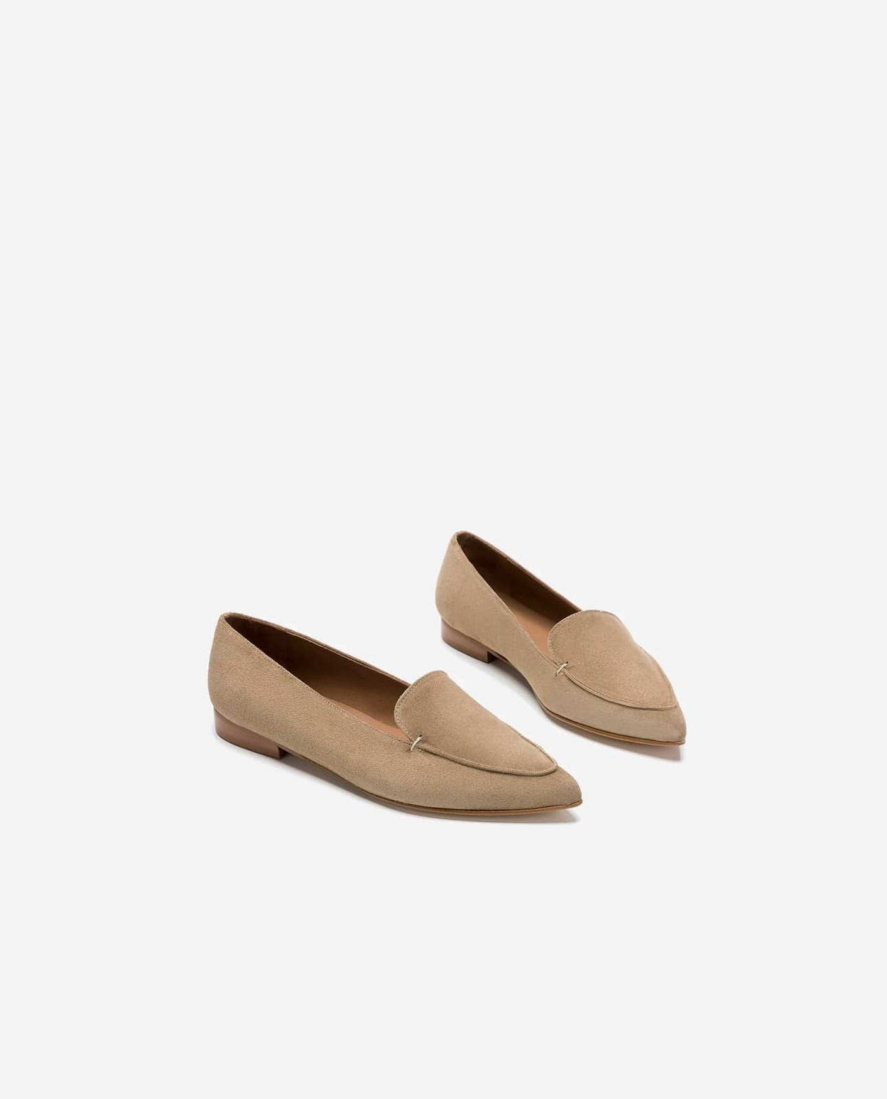 alex suede loafers