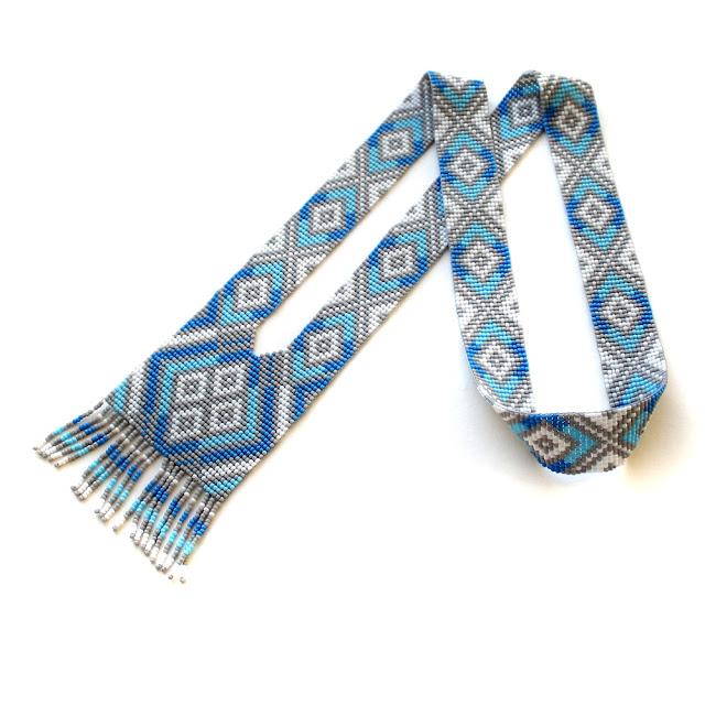 купить красивые герданы из бисера в России пересылка в Москву