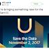 """HTC เตรียมเปิดตัวสมาร์ทโฟน 'U' 2 พฤศจิกายนนี้  """"เรานำเสนอสิ่งใหม่ ๆ #BrilliantU"""""""