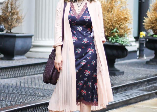 transitional vintage slip dress