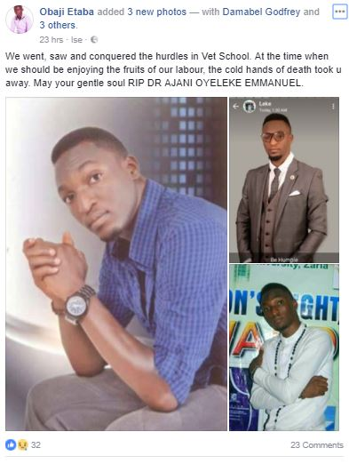 NYSC Member Dies In Fatal Accident Involving A Trailer