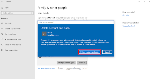Tutorial Cara Menghapus User Account Di Windows 10