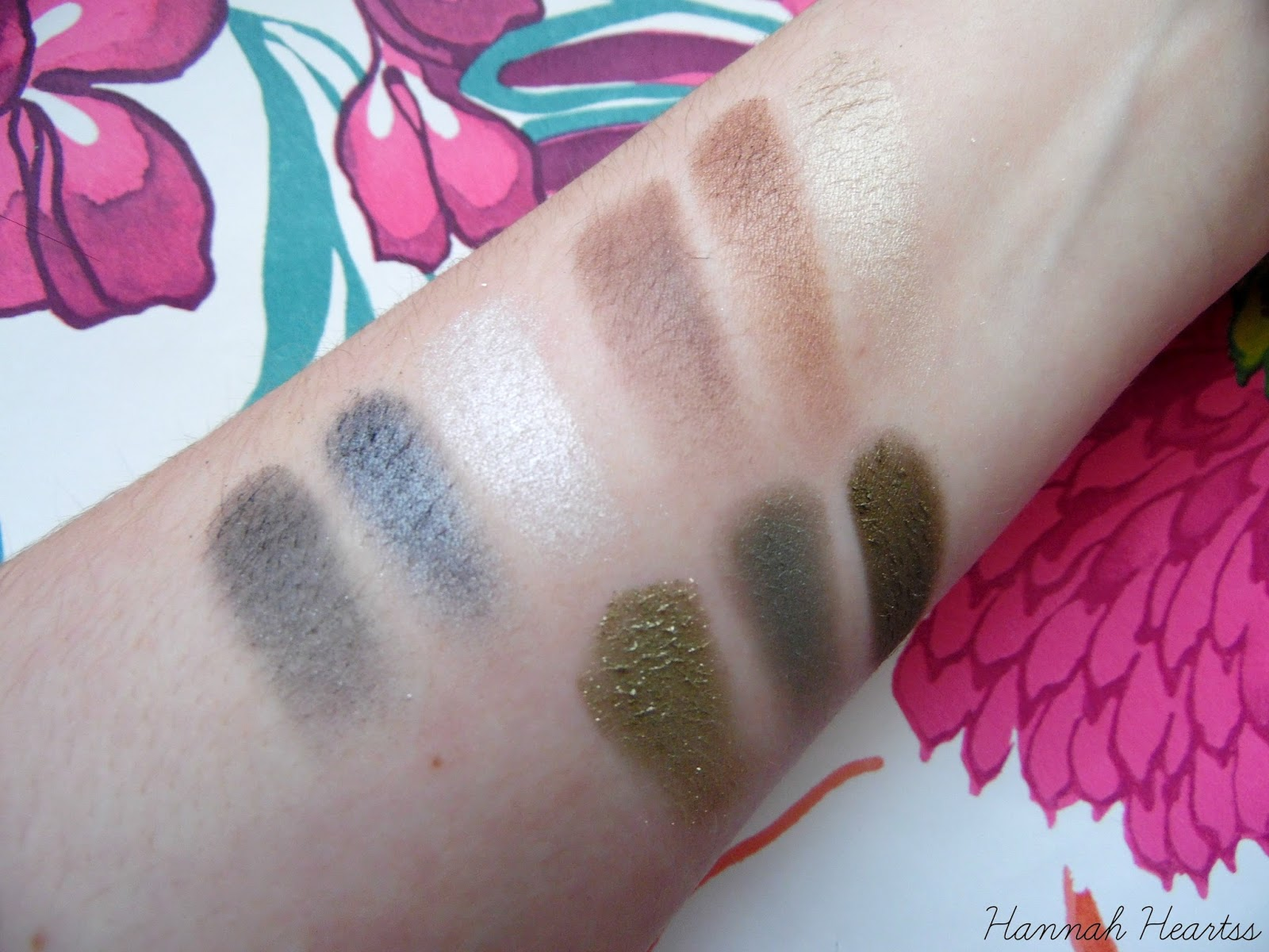 MeMeMe Pressed Perfection Eye Inspire Collection Swatched