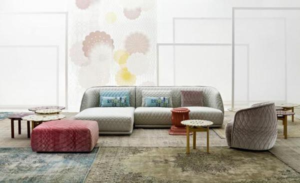 patricia urquiola redondo sofa moroso. Black Bedroom Furniture Sets. Home Design Ideas