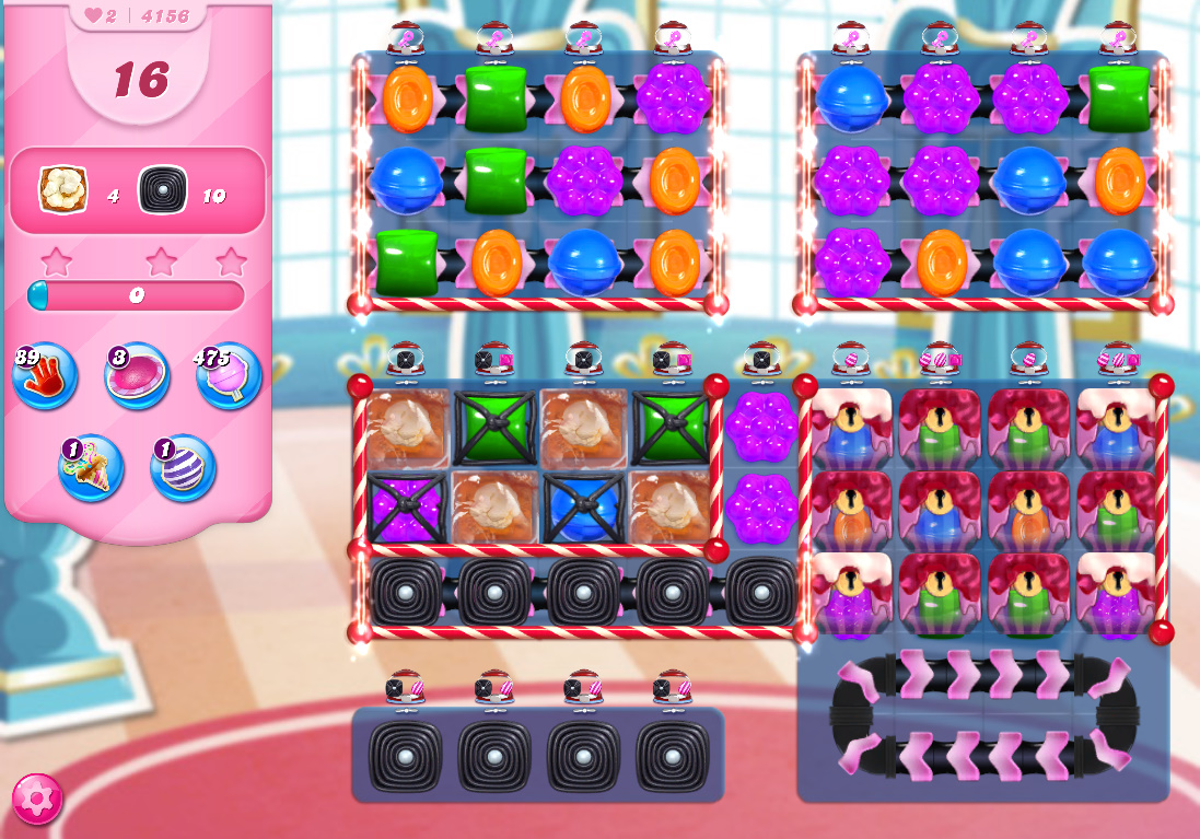 Candy Crush Saga level 4156