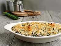White and Wild Rice Bake
