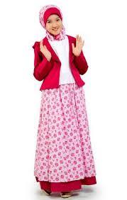 Baju Muslim Gamis Anak Umur 12 Tahun