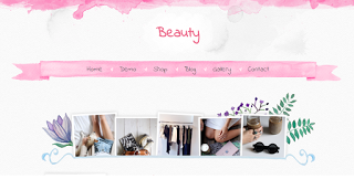 Beauty - responsive blogger template