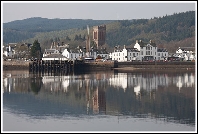 Inflatable Boat Journeys From Scotland Loch Fyne And Inverary