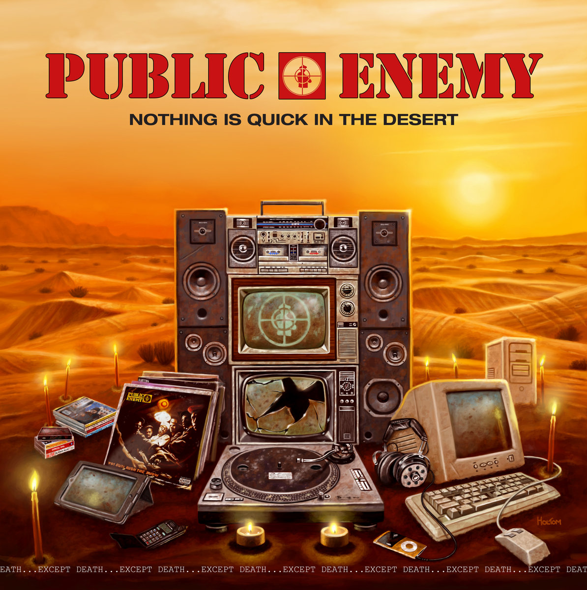 Das Album 'Nothing Is Quick In The Desert' von Public Enemy als Free Download und das coolste Musikvideo der Woche