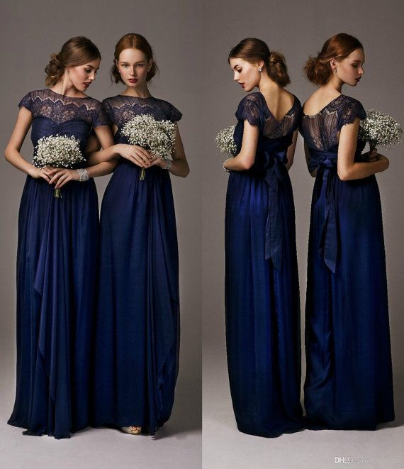 bridesmaid dresses with scoop neckline