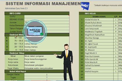 Download Aplikasi Sisrem Administrasi Manajemen Guru Kelas