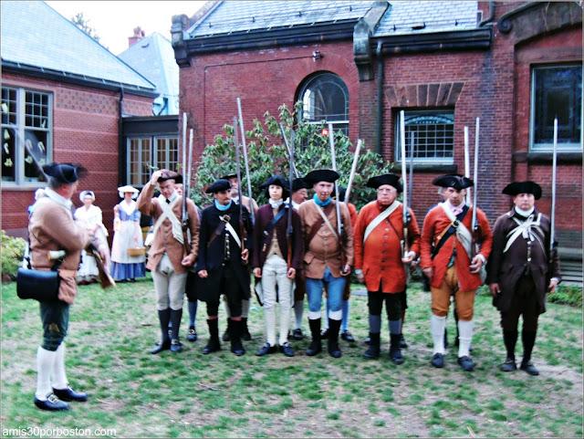 Eventos por Patriots Day: Alarm & Muster of the Lincoln Minute Men