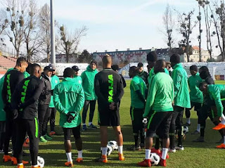 Super Eagles Begin Training In Poland As Mikel Obi Is Absent