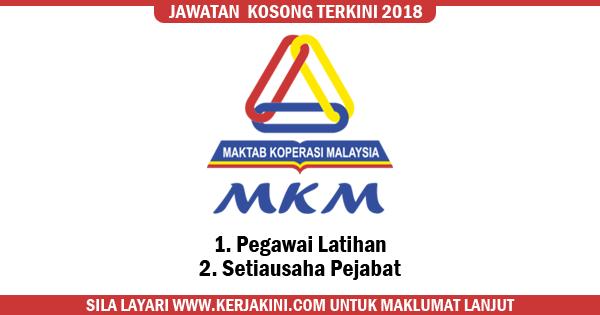 jawatan kosong maktab koperasi malaysia 2018