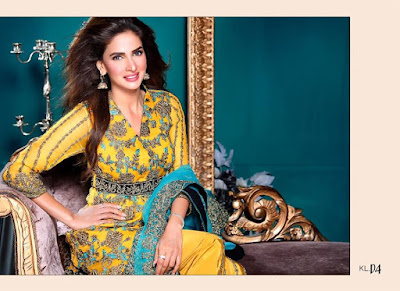 latest long chiffon dresses for women by ZS Textiles