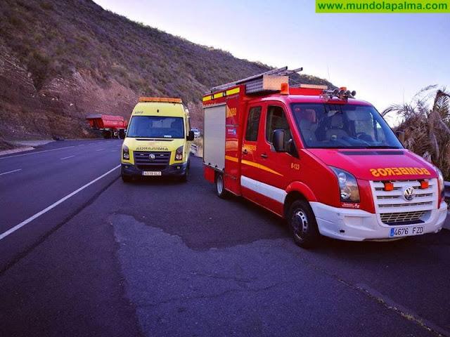Fallecen tres personas al caer su vehículo por un barranco en San Andrés y Sauces