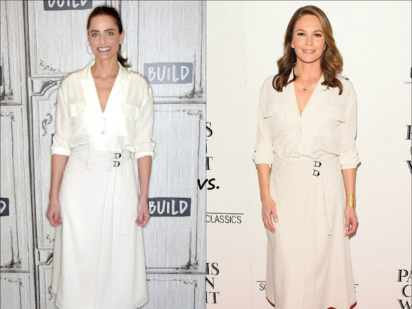 👗Amanda Peet vs Diane Lane