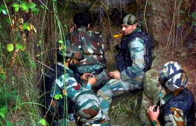 Hideout of terrorists busted, Jammu & Kashmir, BSF, Border Security Force, J&K