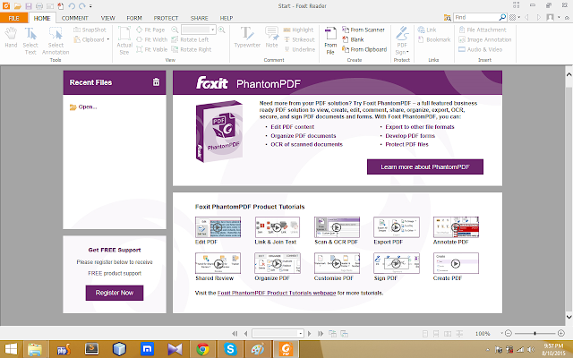 Foxit Reader 7.2 free download
