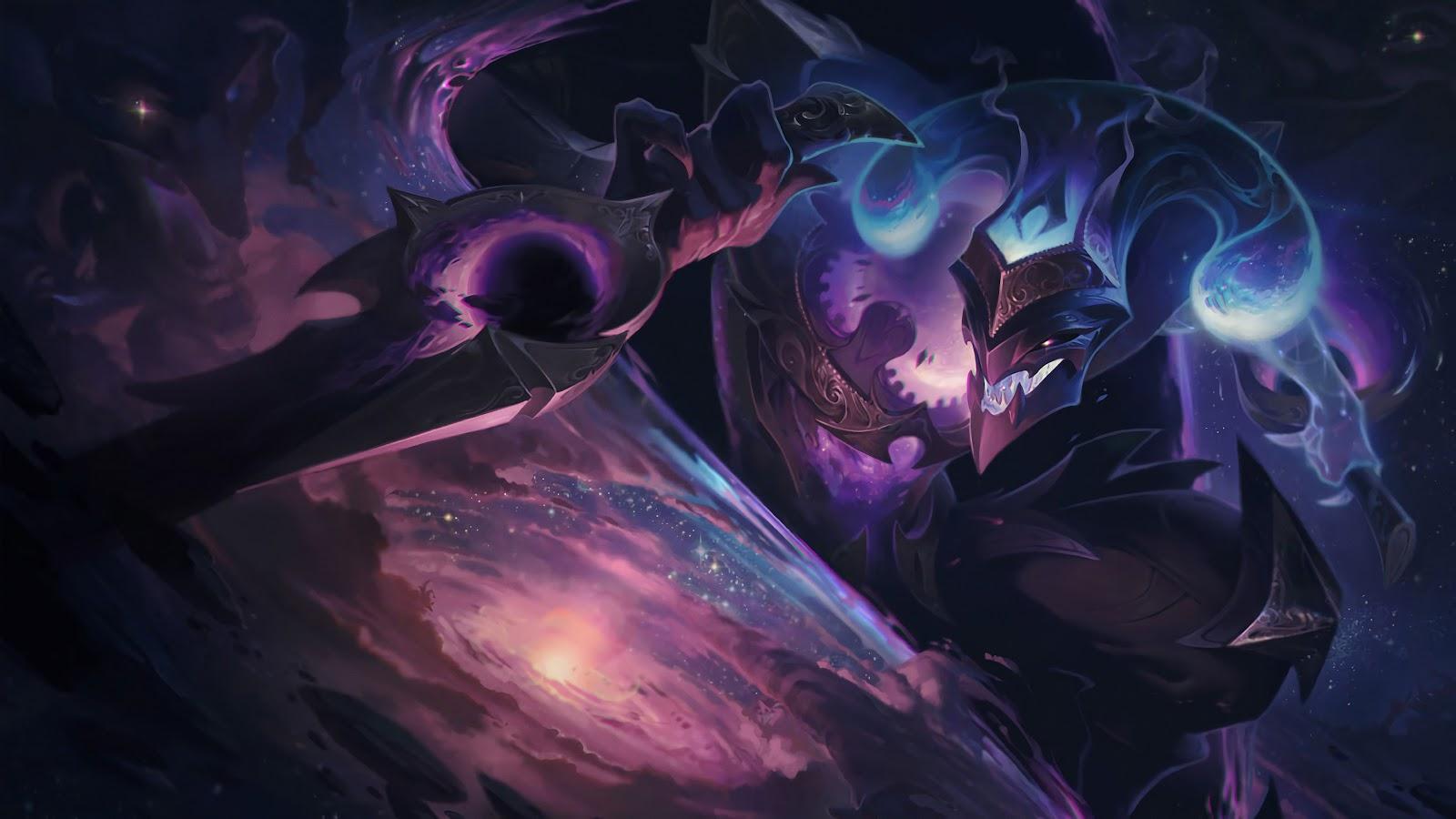Dark Star Shaco Splash Art Lol 4k Wallpaper 89