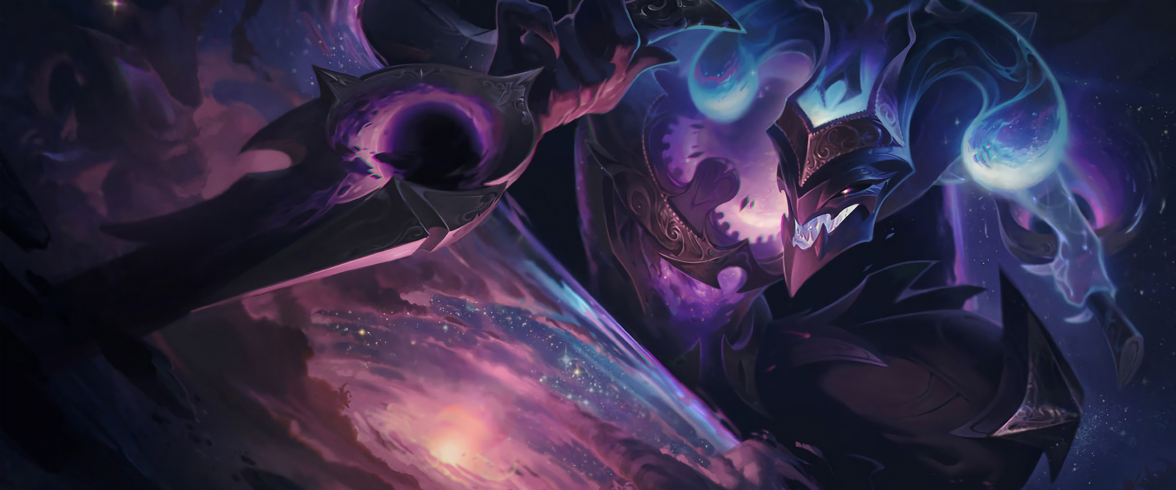 Dark Star Shaco Splash Art Lol 4k Wallpaper 89