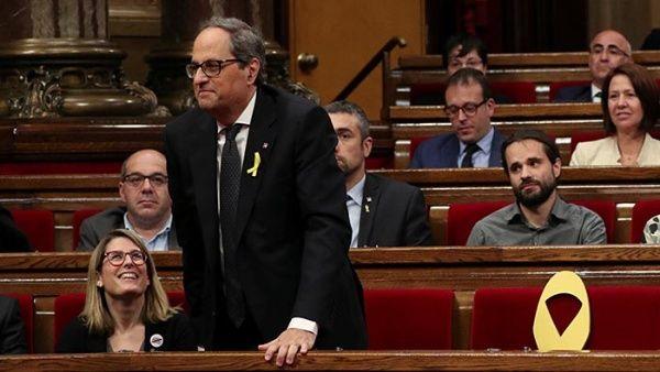 Presidente del Gobierno catalán nombra nuevos consejeros