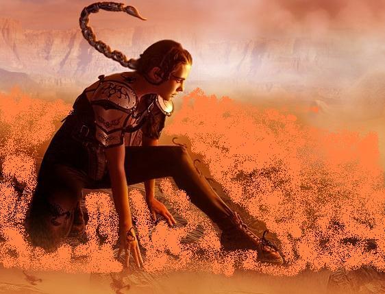 Femeia Scorpion: misterioasă, cuceritoare, puternică