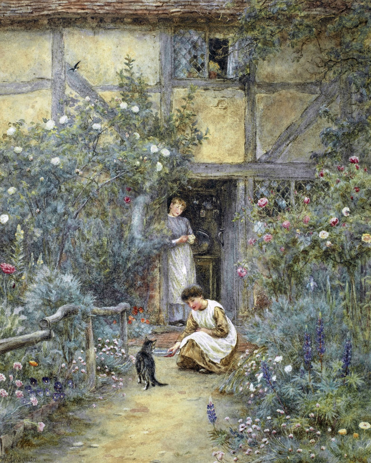 Victorian British Painting: Helen Allingham, Ctd