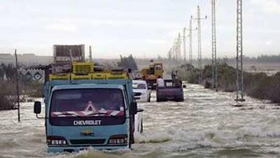 موجة أمطار غزيرة تضرب بعض المحافظات منذ قليل وإعلان حالة الطوارئ والأرصاد تُحذر من طقس اليوم
