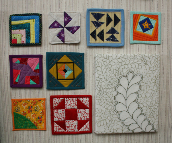 Mini mini quilts | DevotedQuilter.blogspot.com