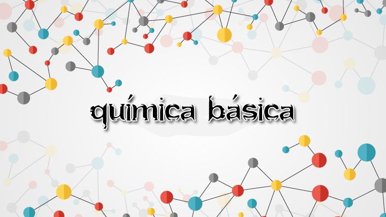Curso de Química Básica online e gratuito
