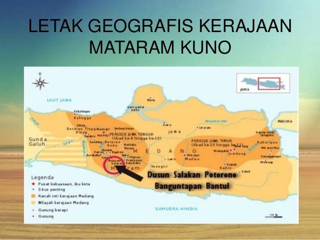 letak geografi mataram kuno dan islam