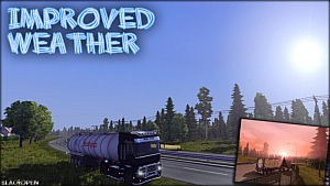 Improved Weather for ETS 2 by BlackOpen