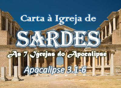 estudo bíblico sete igrejas do apocalipse pregação sardes