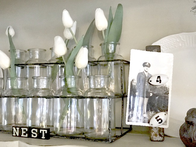 Easy Vintage Tool Photo Display