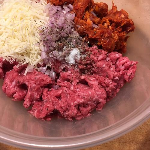 Chorizo-Albóndigas ~ Chorizo-Hackbällchen