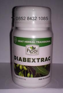 Obat alami diabetes herbal Diabextrac penurun gula darah tradisional