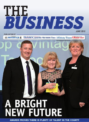 the business magazine june 2015 front cover