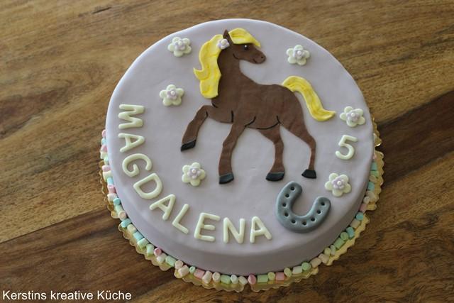 kerstins kreative küche pferde torte